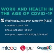 Work and Health in the Age of COVID-19